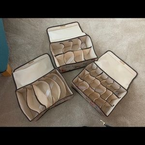 3Pcs storage box